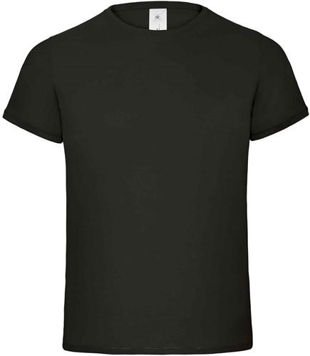 B&C Flamingo Heren T-shirt-Zwart-S
