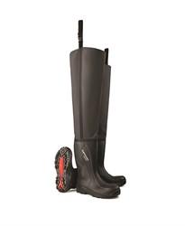 Dunlop C762043.TW Lieslaars Purofort S5 - zwart