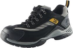 CAT Moor P705039 Lage Veiligheidsschoen SB - zwart/grijs