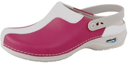 Wash&Go Clog Open - fuchsia/wit