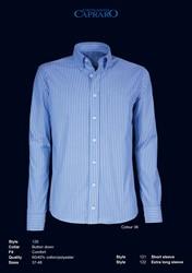 Giovanni Capraro 120-36 Overhemd - Blauw gestreept