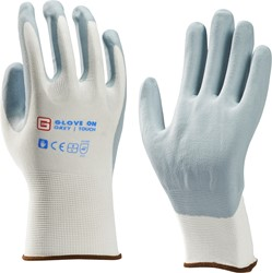 Glove On Grey Touch