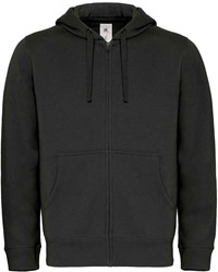 B&C Hooded Full Zip Heren Sweater