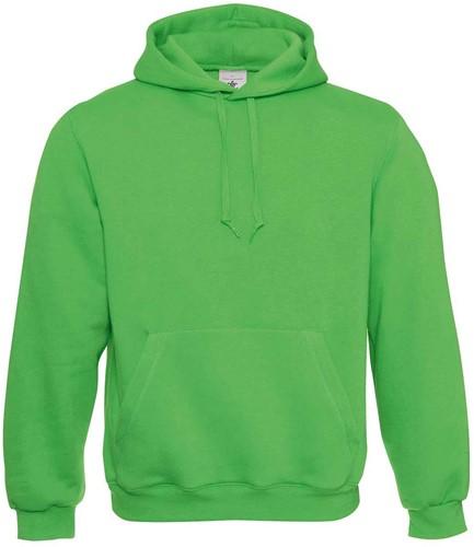 B&C Hooded Sweater-Real Groen-XXS
