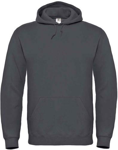 B&C ID.003 Hooded Sweater-XS-Anthracite