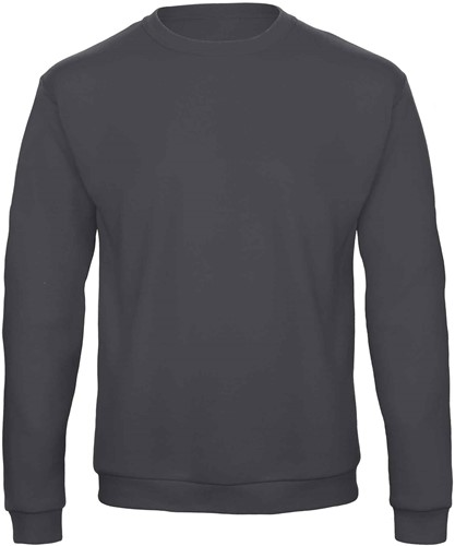 B&C ID.202 50/50 Sweater-XS-Anthracite