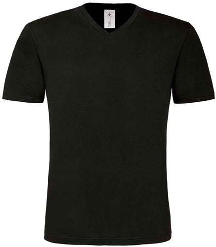 B&C Mick Classic Heren T-shirt-Zwart-S