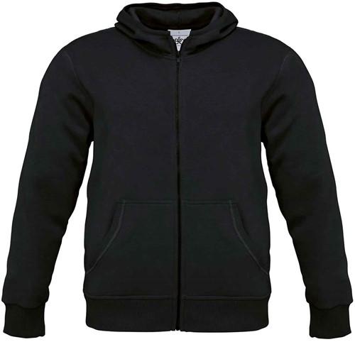B&C Monster Heren Sweater-Zwart-S