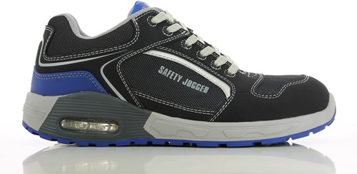 Safety Jogger Raptor S1P Metaalvrij - Zwart/Blauw-38