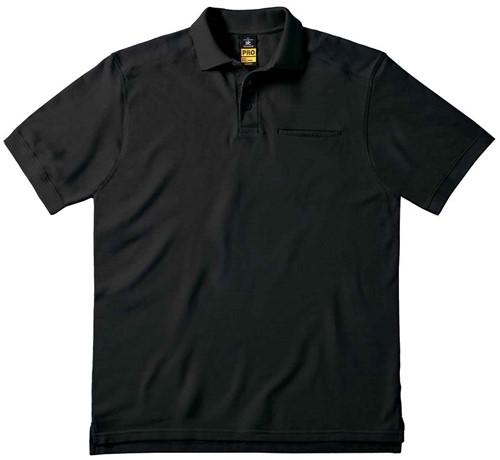 B&C Skill Pro Polo-Zwart-S