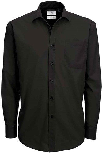 B&C Smart LSL Heren Overhemd