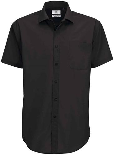 B&C Smart SSL Heren Overhemd-Zwart-S