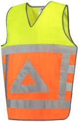 Tricorp 453001 Tabard Verkeersregelaars vest