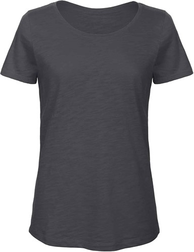 B&C TW047 Slub Dames T-shirt