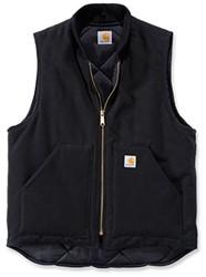 Carhartt Duck Vest Arctic Quilt Lined bodywarmer