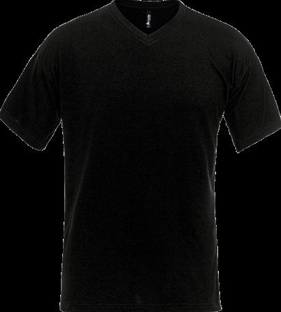 SALE! Acode 100241-940 T-shirt met V-hals - Zwart - Maat S