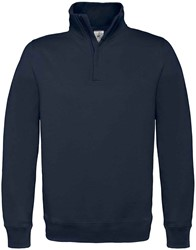 OUTLET! B&C ID.004 Zip sweater - Navy - Maat L
