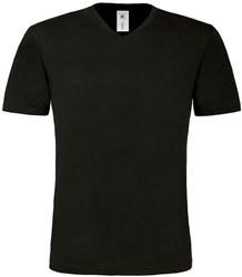 OUTLET! B&C Mick Classic Heren T-shirt - Zwart - Maat XL