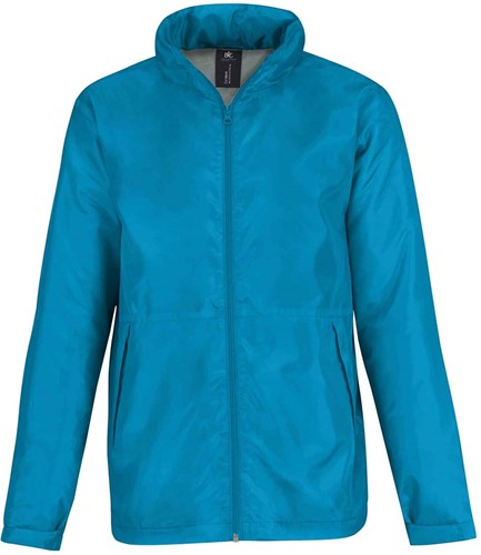 OUTLET! B&C Multi-Active SoftShell Jas Heren - Blauw - Maat L