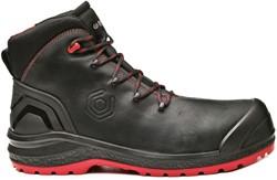 Base Classic Plus Be Uniform Top Veiligheidsschoen S3 - Zwart/Rood