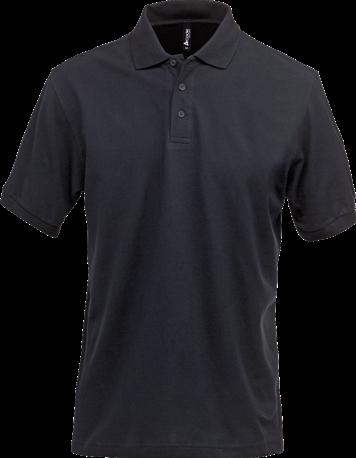 Acode Herenpoloshirt, zware kwaliteit-XS-Donker marineblauw