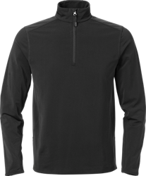 Acode Heren superstretch sweatshirt met korte rits