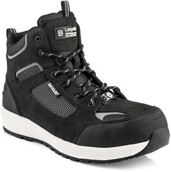 Buckler Boots BAZ Hoge Veiligheidsschoen S1P - Zwart