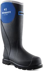 Buckler Boots Dames Regenlaars BBZ5666 - Zwart/Blauw
