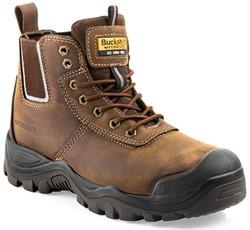 Buckler Boots Hoge Schoen BHYB2BR S3 + KN - Bruin