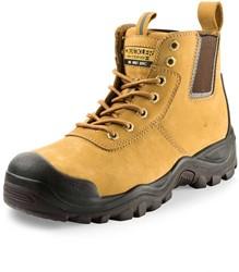 Buckler Boots Hybridz Hoge Veiligheidsschoen S3 - Honey
