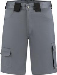 WW4A Bermuda Katoen/Polyester - Grijs/Zwart