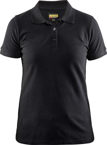 SALE! Blaklader 33071035 Dames Poloshirt Piqué - Zwart - Maat 2XL