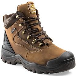 Buckler Boots Hoge Schoen BSH002BR S3 + KN - Bruin