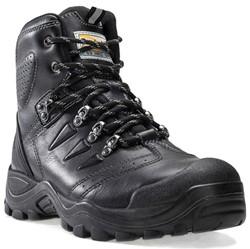 Buckler Boots Hoge Schoen BSH007BK S3 + KN - Zwart