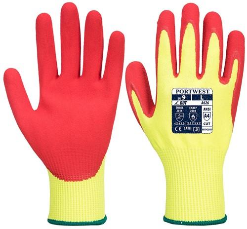 Portwest A626 Vis-Tex HR Cut Nitrile Glove