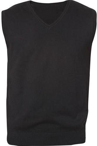 SALE! Clique 021175 Adrian heren V-neck pullover - Zwart - Maat XS