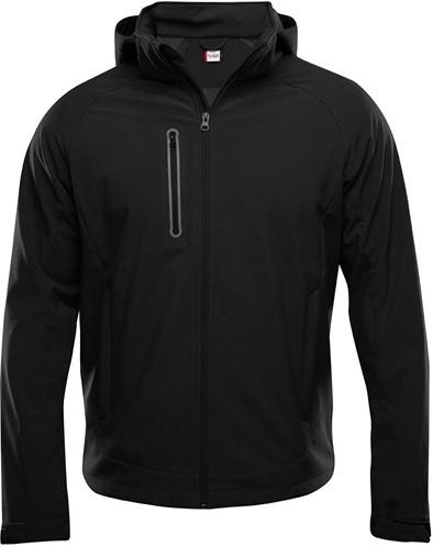 SALE! Clique 020927 Milford softshell jacket heren - Zwart - Maat L