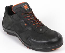 No Risk Corvette Shoe Laag S3 - Zwart
