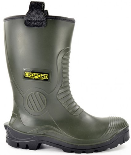 Croford Footwear Helsinki S5 gevoerd - Groen