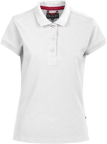 SALE! DAD 134031 Lynton Polo Dames- Wit - Maat M