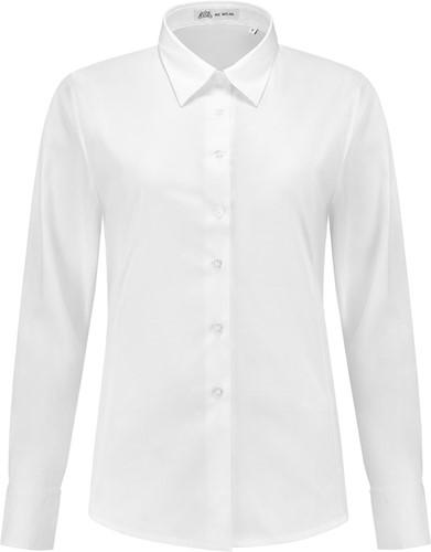 SALE! Me Wear 5024 Dames blouse Juliette LM - Wit - Maat M