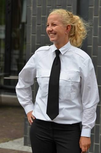 Dames Pilot shirt - LM Wit
