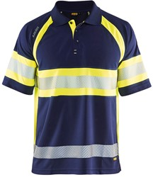 Blaklader 33381051 Poloshirt High Vis Klasse 1