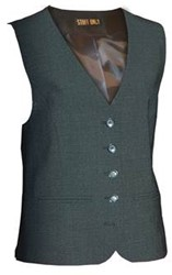 Staff Only Dames Gilet Gianna - Antraciet