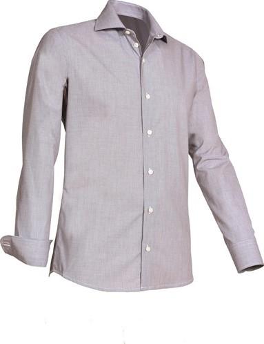 OUTLET! Giovanni Capraro 921-20 Overhemd - Grijs - Maat XL