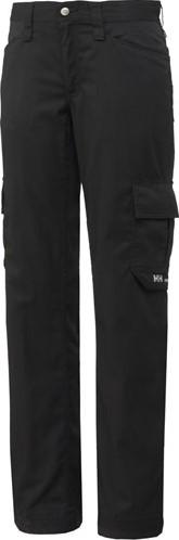 SALE! Helly Hansen 76465 Dames Durham Service Pants - Zwart - Maat 34