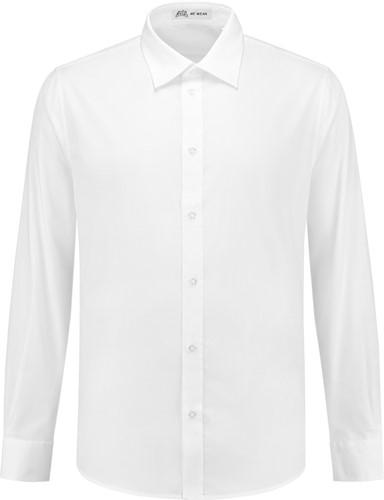 SALE! Me Wear 5010 Heren overhemd Brandon LM - Wit - Maat 3XL