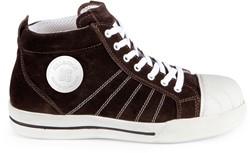 Redbrick Brown Toe cap S1P