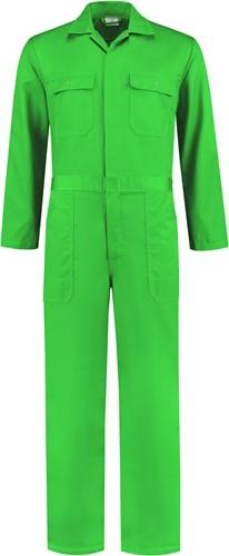 WW4A Kinderoverall Polyester/Katoen - Appelgroen