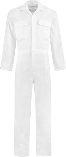 WW4A Kinderoverall Polyester/Katoen - Wit